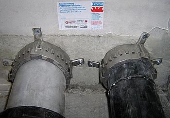 Bild zum Vergrößern anklicken - Brandschutz