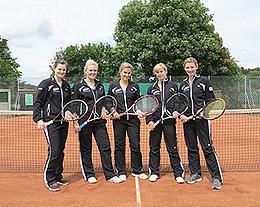 Bild zum Vergrößern anklicken - Sponsoring an den Tennisverein Guckheim